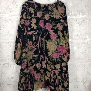 Eliza J Dresses - Eliza J | Velvet Floral Dress